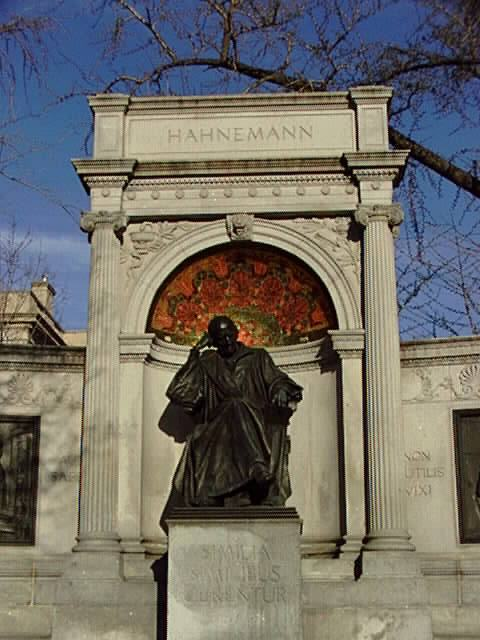 Hahnemann Memorial at Scott Circle in Washington, DC (1900)
