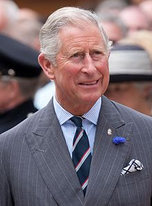 Prince Charles in 2012