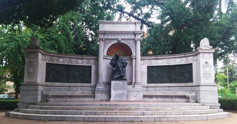 Hahnemann memorial in Washington D.C.