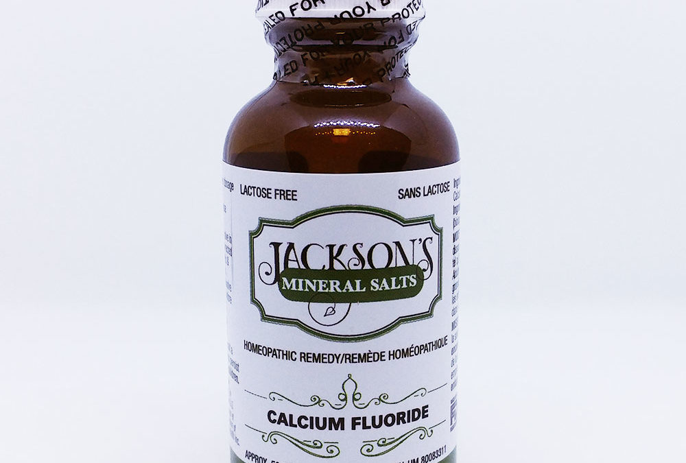 Schuessler Cell/Tissue Salt: Calcarea fluorica (Calc fluor) for bone, teeth, and elasticity