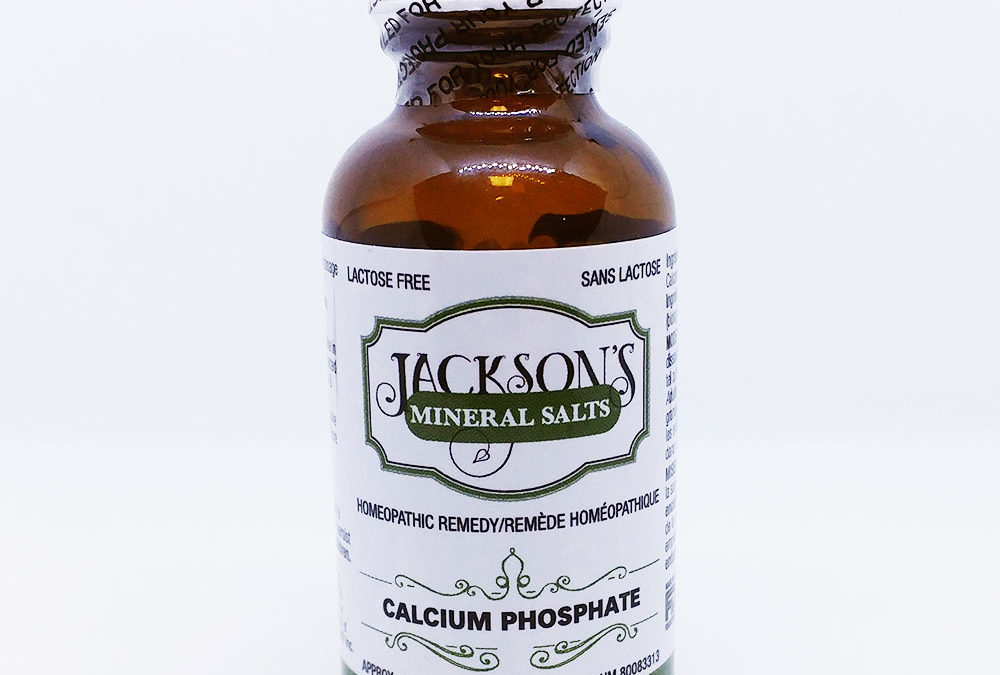 Schuessler Cell/Tissue Salt: Calcarea phosphorica (Calc phos) for bone health